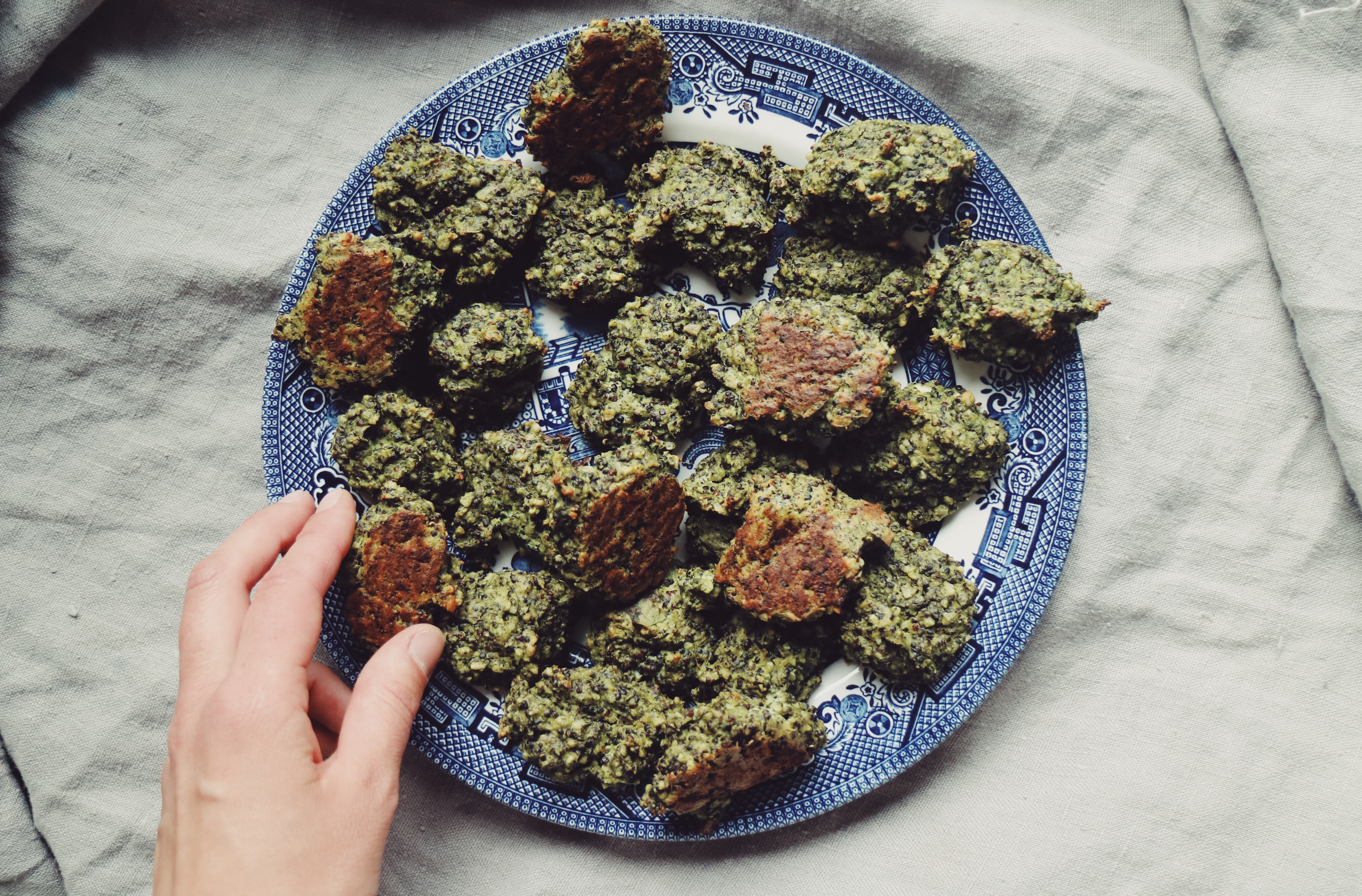 spinach-ricotta-patties-healthy-living